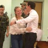 Освобождение подзащитной из-под стражи в зале суда